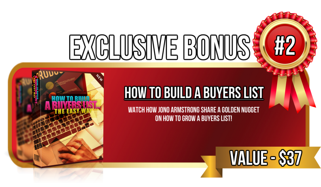 how to build a buyers list fast