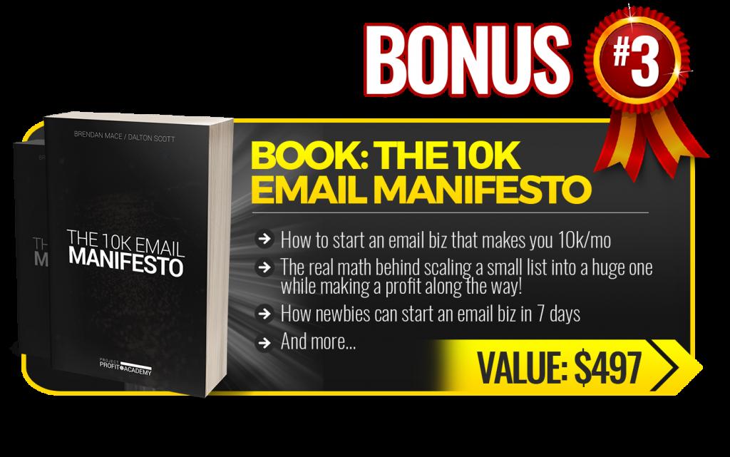 10k email manifesto