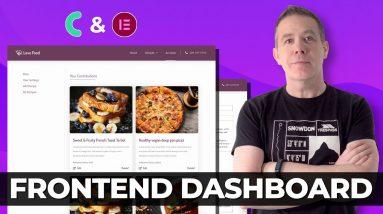 Frontend Dashboard Elementor & JetEngine | Listing Website Part 2
