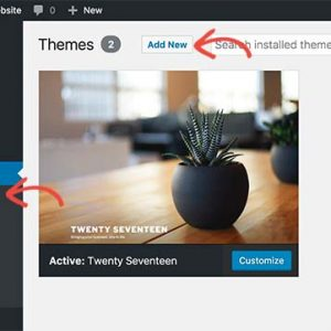 build your own website easily with wordpress