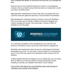 strengthen your web presence with wordpress web development