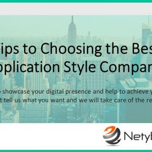 top 5 tips to choosing the best web application design company