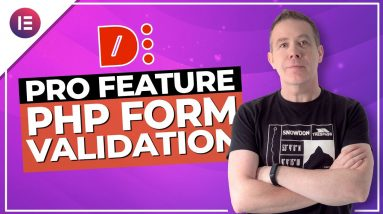 Dynamic Content for Elementor | PHP Form Validation