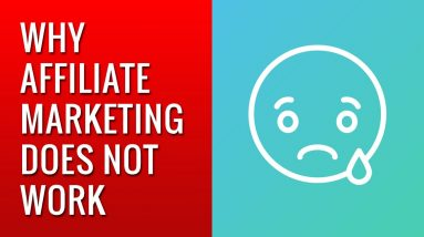 when affiliate marketing does not work