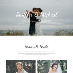 free wordpress wedding theme