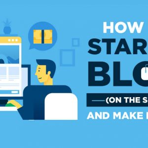 how to start a blog and why you should today