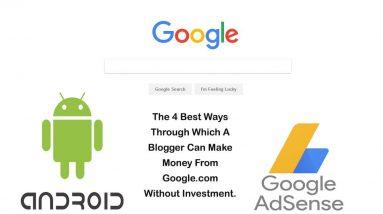 make money with google part 1