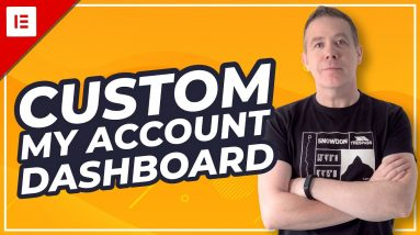 Customize WooCommerce My Account Page   Elementor & JetWooBuilder