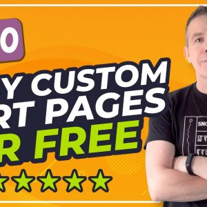 How To Customize the Woocommerce Cart Page with Elementor Free & Woolementor Free