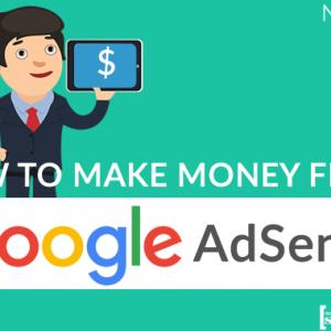 how to make money online with google adsense program