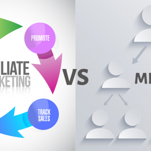 combining affiliate marketing with a mlm network