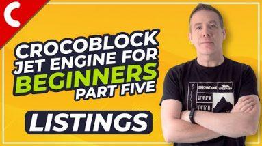 Crocoblock Jet Engine for Beginners - Listings - Part 5
