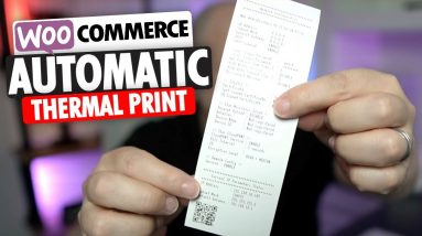 How To Automatically Print WooCommerce Orders To Thermal Printers For WordPress Websites