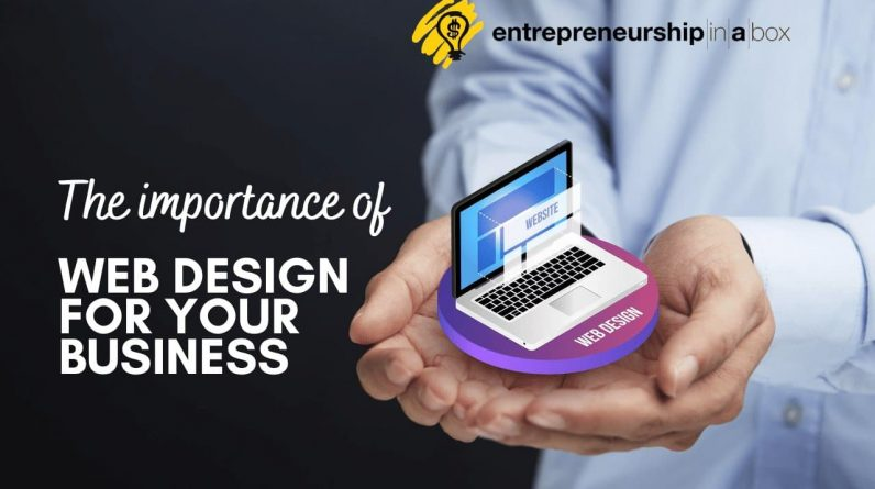 why is web design important for any serious business