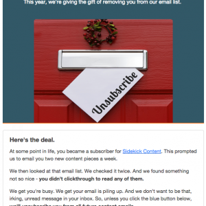 useful tips for email marketing unsubscribe and recycle