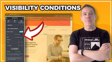 Elementor Display Conditions with Ultimate Addons for Elementor
