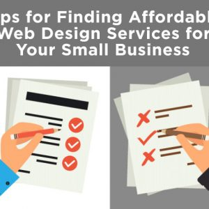 finding an affordable web design company what to look for