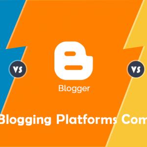 comparing free blogging software