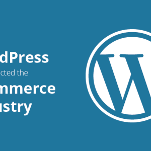 wordpress and its contribution to the e commerce industry
