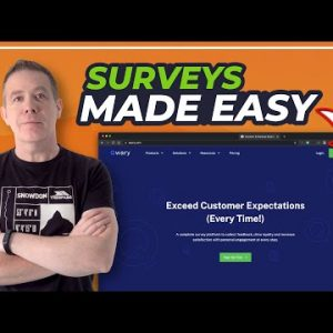 Powerful User Surveys Made Easy | Qwary LTD | First Look