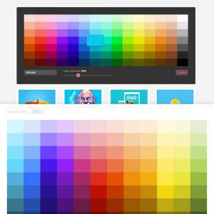 using colors in web design a short guide