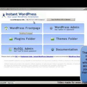 manually updating a local wordpress installation using windows xp