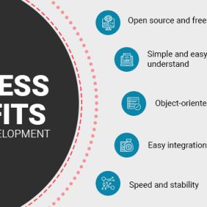 benefits of php website development