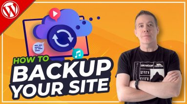 How To Backup Your WordPress Website in under 5 MINUTES for FREE