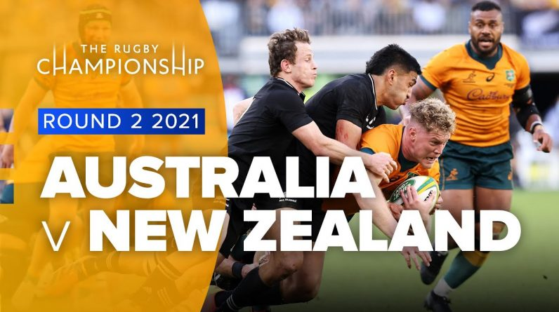The Rugby Championship | Australia v New Zealand - Rd 2 Highlights