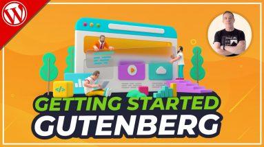 Gutenberg WordPress Tutorial - Beginners Guide 2021