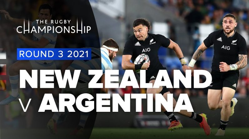 The Rugby Championship   New Zealand v Argentina - Rd 3 Highlights