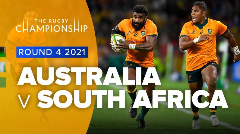 The Rugby Championship   Australia v South Africa - Rd 4 Highlights