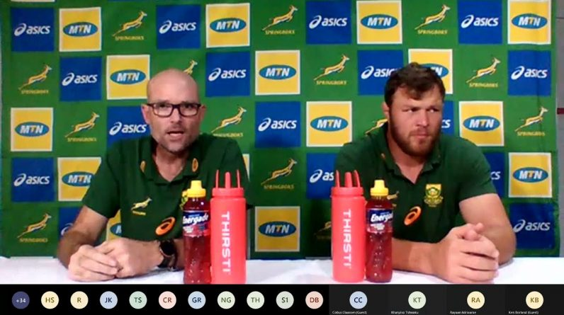 Boks announce team to face All Blacks in 100th Test
