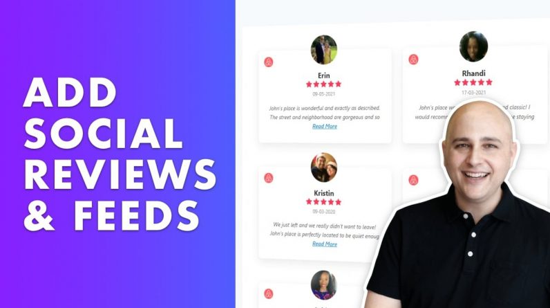 How To Add Social Reviews, Feeds, & Chat To WordPress Websites - WP Social Ninja Review