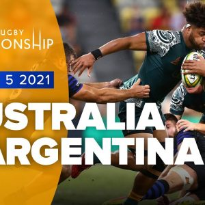 The Rugby Championship | Australia v Argentina - Rd 5 Highlights