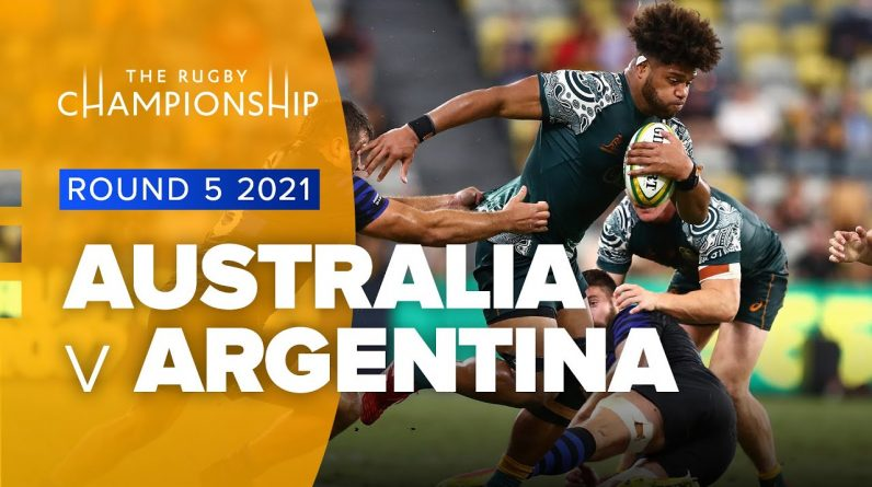 The Rugby Championship   Australia v Argentina - Rd 5 Highlights