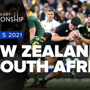 The Rugby Championship | New Zealand v South Africa - Rd 5 Highlights
