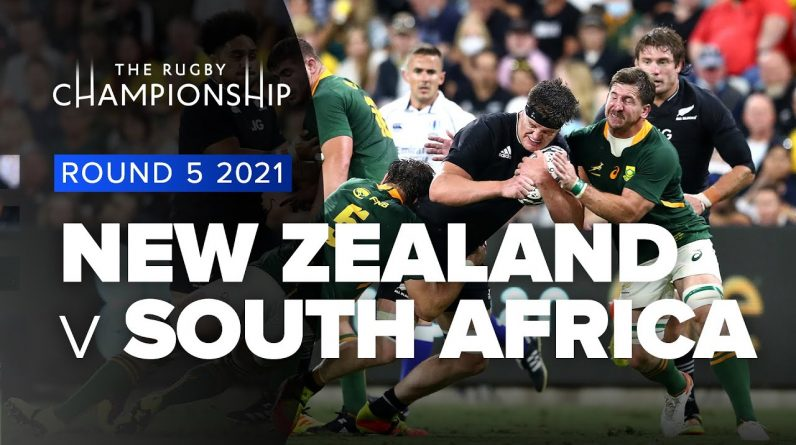 The Rugby Championship   New Zealand v South Africa - Rd 5 Highlights