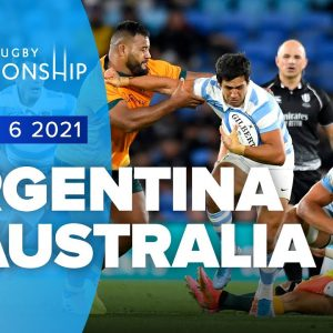 The Rugby Championship | Argentina v Australia - Rd 6 Highlights