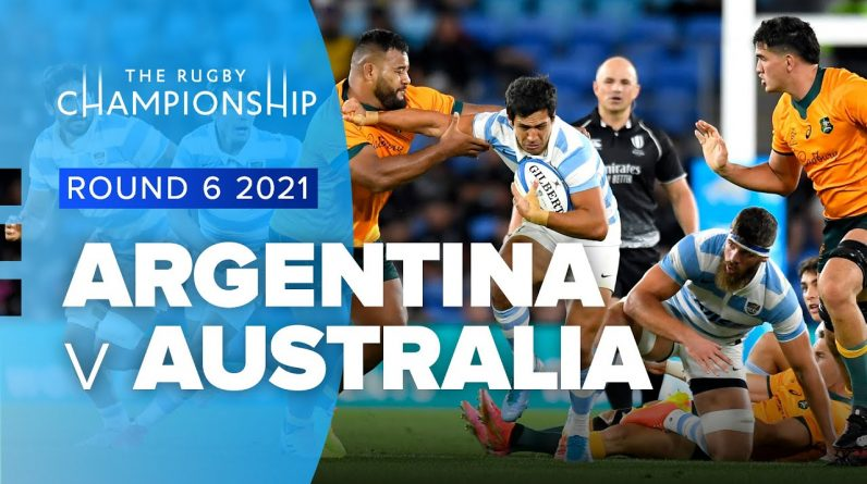 The Rugby Championship   Argentina v Australia - Rd 6 Highlights