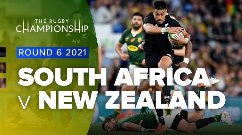 The Rugby Championship | South Africa v New Zealand - Rd 6 Highlights