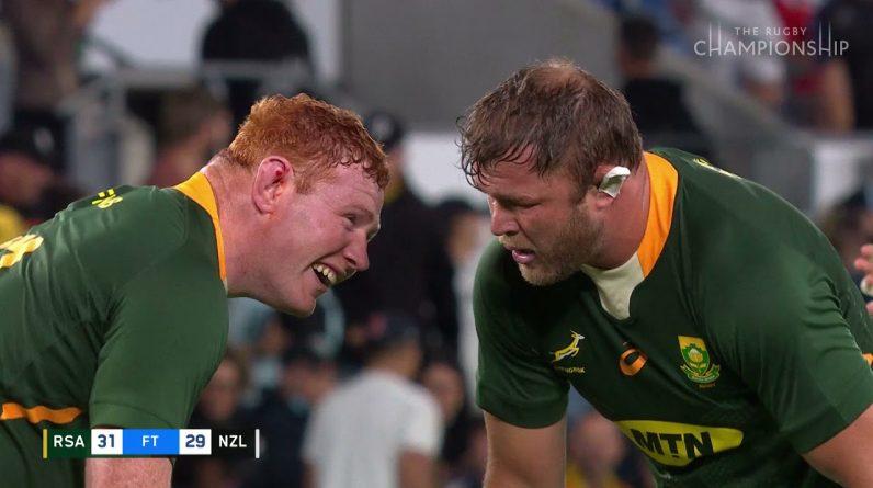 Springboks Win