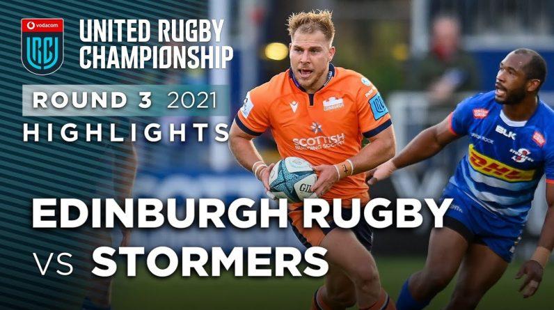 Vodacom URC: Edinburgh vs Stormers (Round 3)