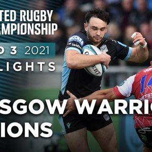 Vodacom URC: Glasgow Warriors vs Lions (Round 3)