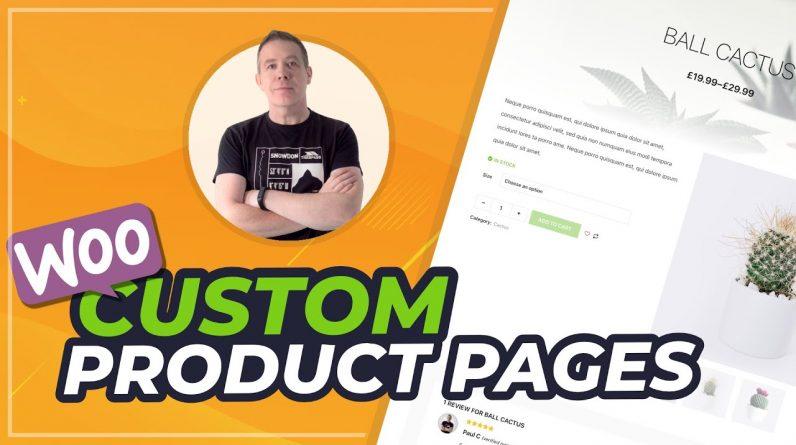 WooCommerce Product Page Customization | ShopEngine & Elementor